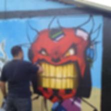street art graffiti urban spraypaint artist