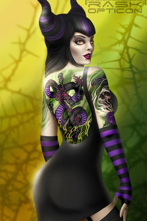 Dark Vixen print