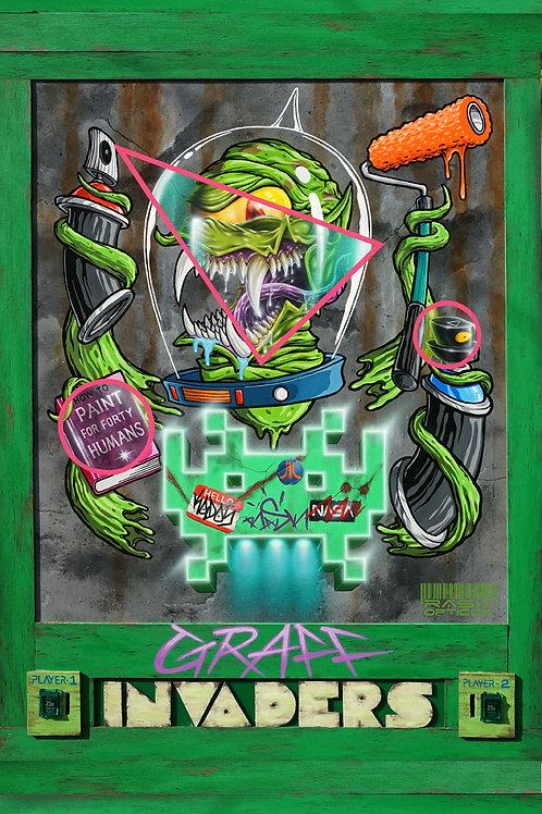 Graff invader