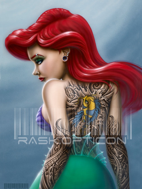 Rogue Princess print