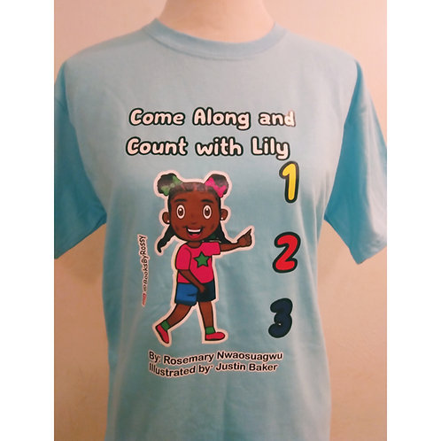 Come Along and Count with Lily T-shirts