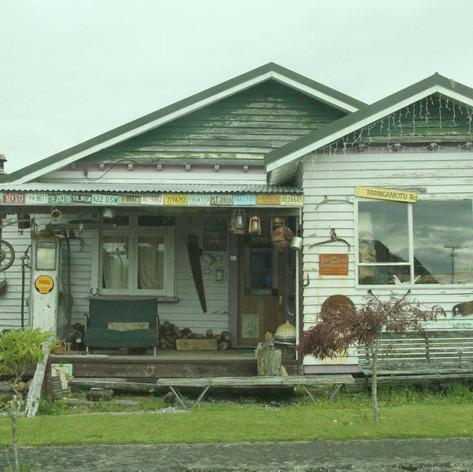 Old house, near Fox Glacier, South Island