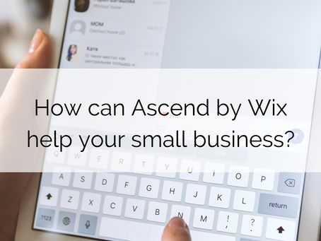 Ascend by Wix for Small Businesses