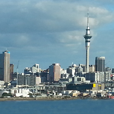 Auckland seafront, North Island