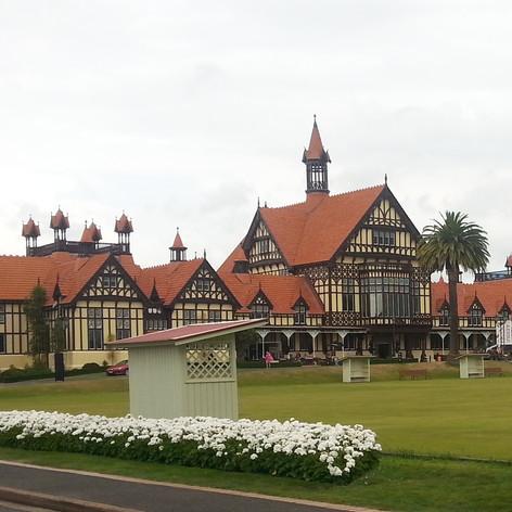 Rotarua Museum, North Island