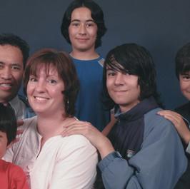 Mat and Danae Raivaru family