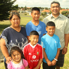 Angela and Joseph Launo family