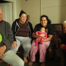 Timothy and Rawinia Clarke family