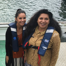 Jolene Nepia and Margaret Rose Ngawaka