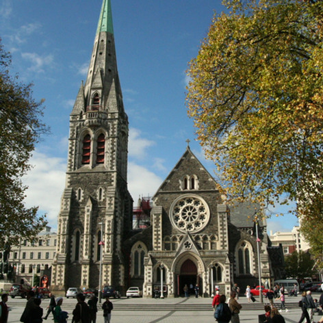 Christchurch Cathedral, South Island, 2007