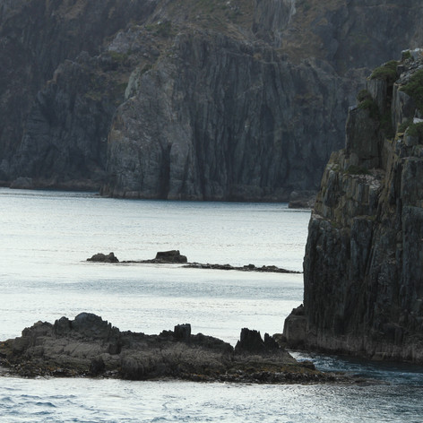 Between North Island and South Island