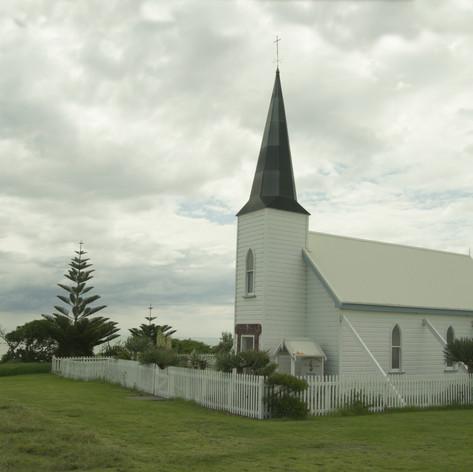 Raukokore Anglican Church, Papate, Bay of Plenty, North Island