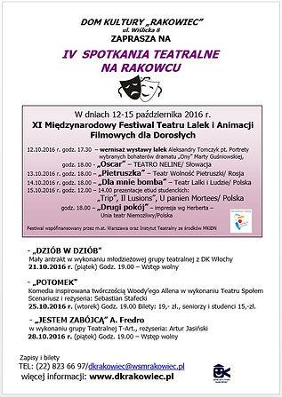 IV Spotkania Teatralne na Rakowcu