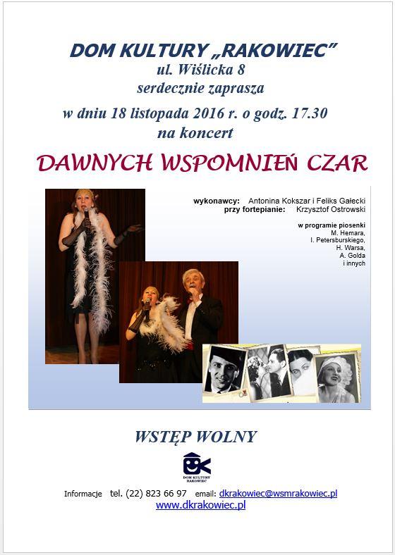 koncert_Dawnych_wspomnień_czar
