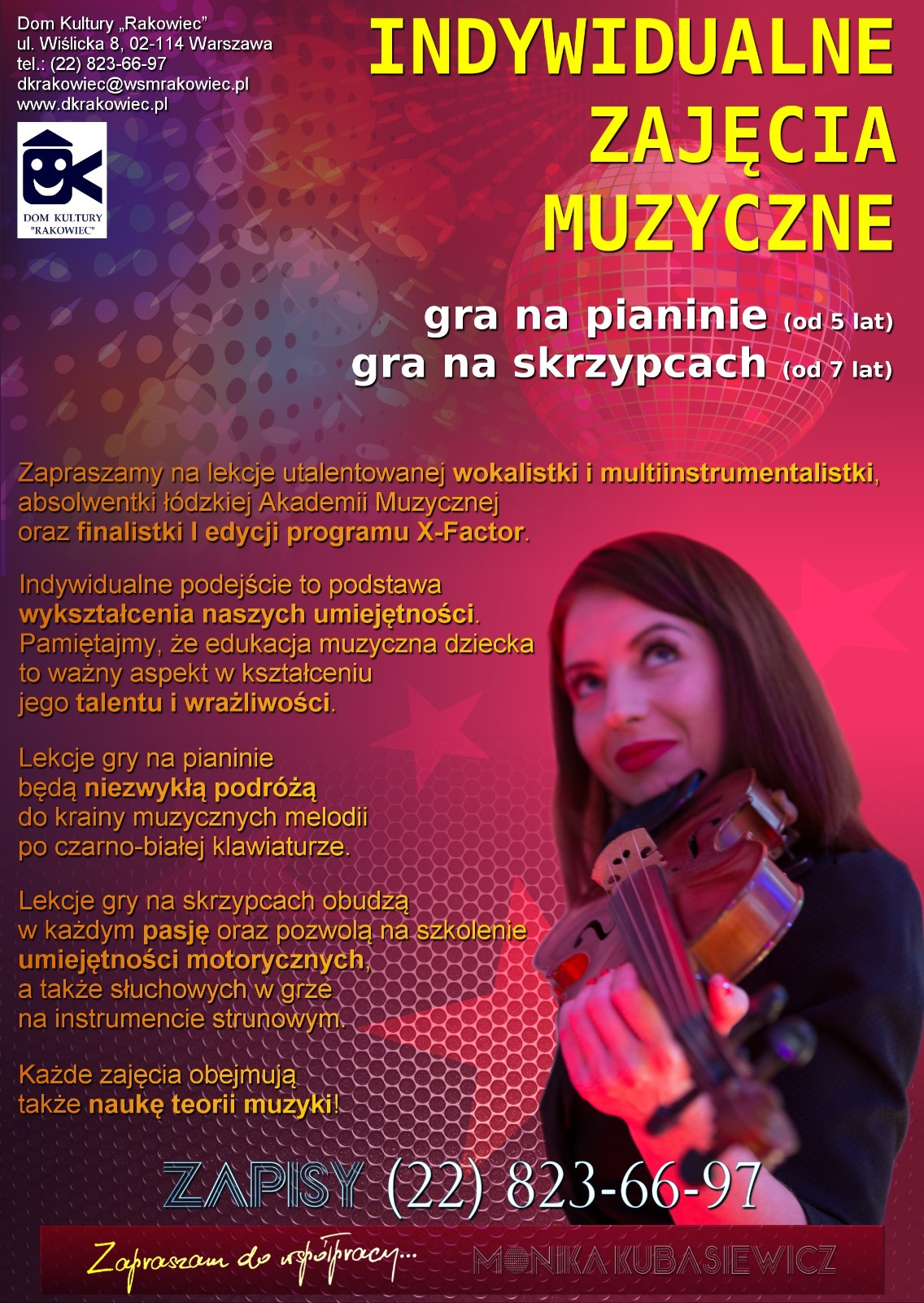ULOTKA dom kultury muzyka 20210127m