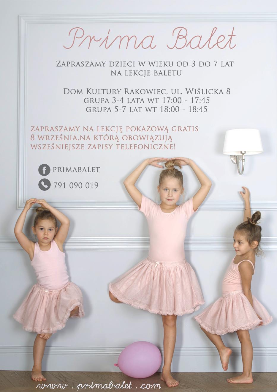 ulotka ochota prima balet2020