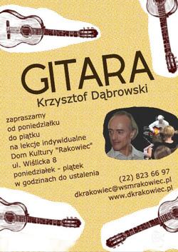 gitara krzysztof dabrowski (032m)
