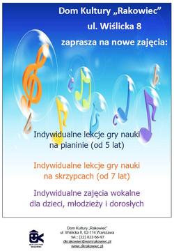 Indywidualne lekcje gry na pianinie2020_