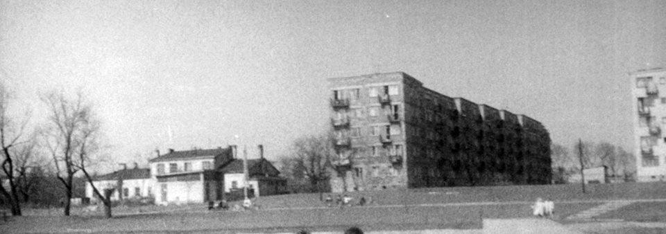 1969 r pozostałości zabudowań AGRiL