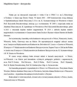 notka_bigraficzna_M.Gąsior_skrzypaczka