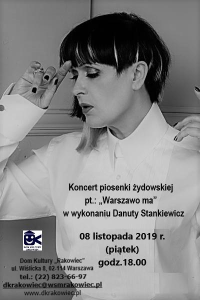 koncert Danuta Stankiewicz