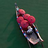 Munker på en kano