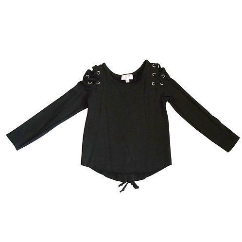 Grommet Sleeve and Back top