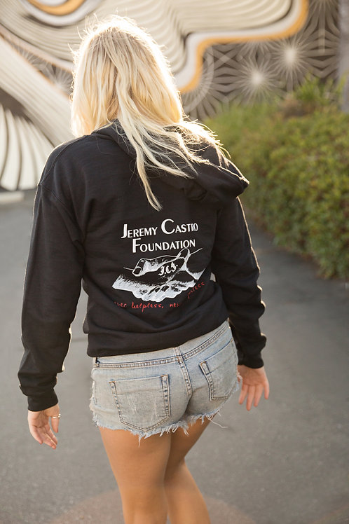 JCF zip-up hoodie