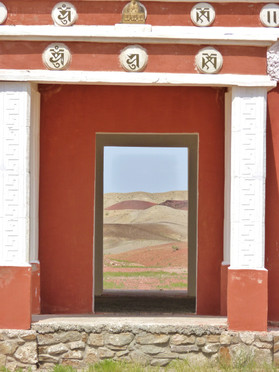 Monastery near Sanshand