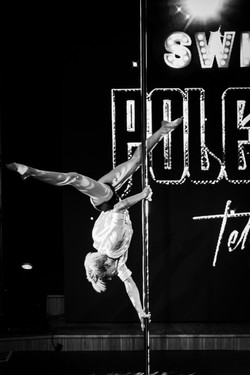 Tania at Pole Théâtre Switzerland