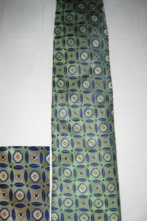 114 Robert Talbott Moss Green-Blue