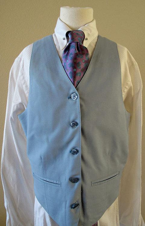 Carl Meyers Light Blue Vest, Size 12-14