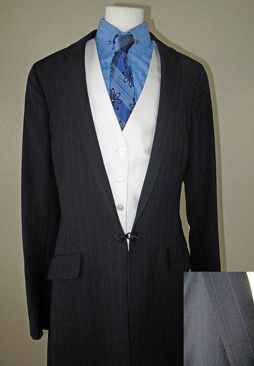 Frierson Navy Suit - Size 4-6 Tall