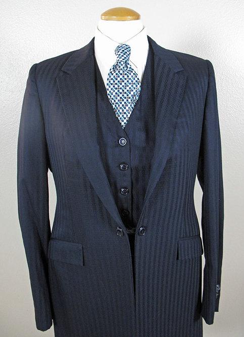 Deregnaucourt Navy Suit - Ladies 10/12