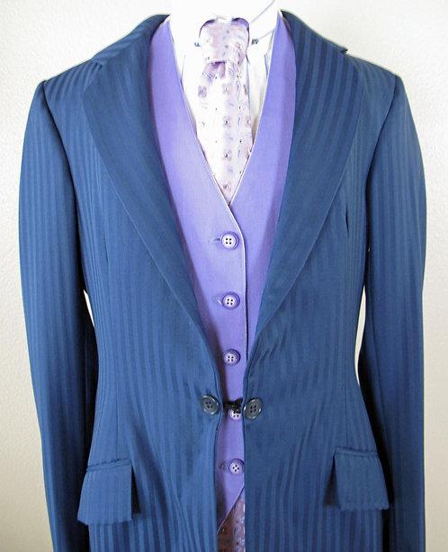 Frierson Revers Vest Lavender/White - L2-4/Y14