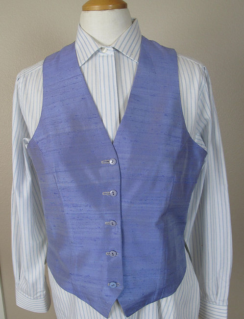 Frierson Lavender Silk Vest - Ladies 10