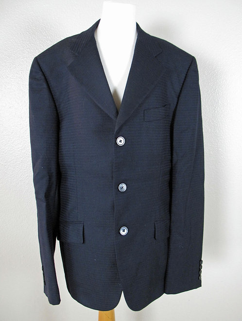 Deregnaucourt Navy Mens Coat