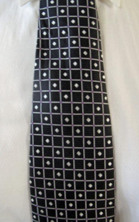 124 Robert Talbott Black-Silver-Magenta box