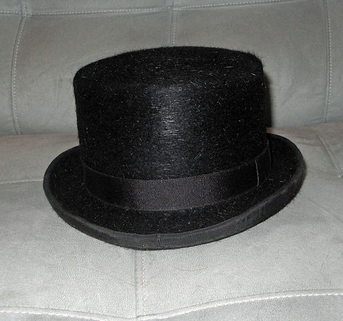 Hartmeyers Top Hat - Size 6 7/8 (measures like 7)