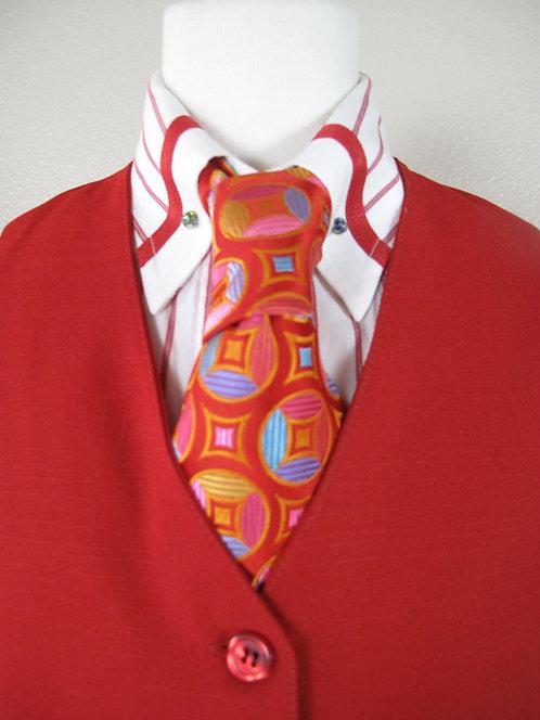 Deregnaucourt Red Shirt/Vest/Tie Set - Ladies 2/4
