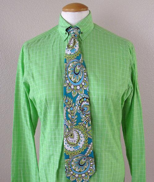 Deregnaucourt Lime Green Shirt - L8