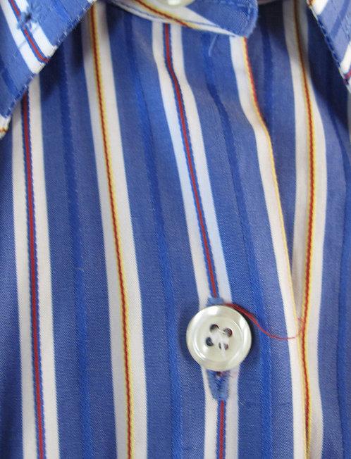 Show Season French Blue Stripe Shirt - Size 10