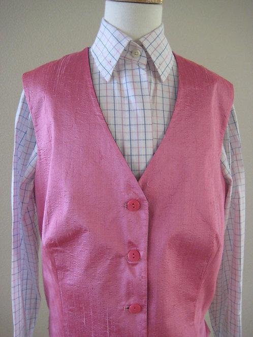 Custom Pink Raw Silk - Size 14