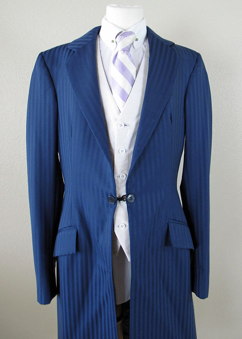 Frierson Navy Stripe Suit - Ladies 2/Youth 14/16