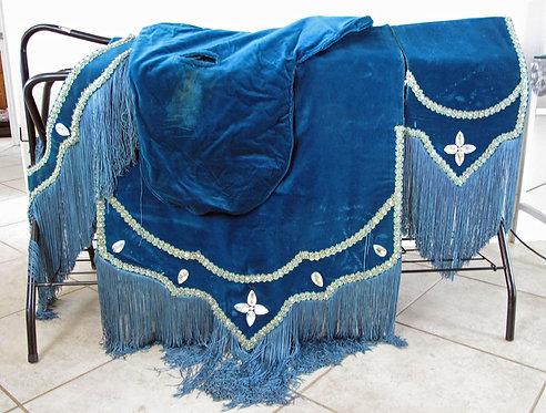 Equine Regalia Teal Blue Complete Costume