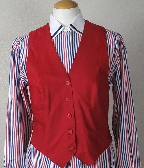 Frierson Red Vest - Ladies 10