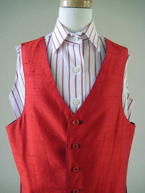 Show Season White/Red Stripe Sleeveless - Size 12