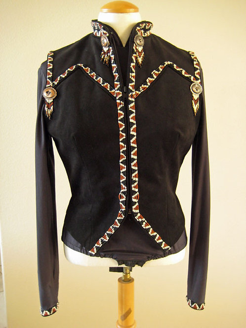 Show Season Black Beading - Ladies 6