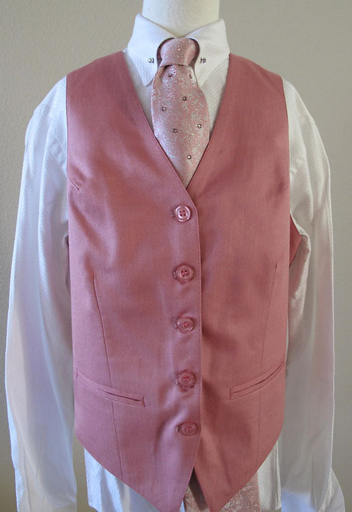 Becker Brothers Pink Vest, Size 12/14