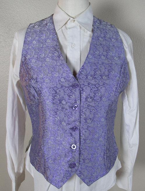 Silver-purple metallic/amethyst - Ladies 10/12